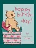 Carte de joyeux anniversaire Photos stock