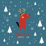 Carte de Joyeux Noël Images stock