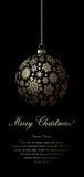 Carte de Joyeux Noël. Images libres de droits
