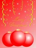 Carte de Joyeux Noël illustration stock
