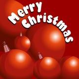 Carte de Joyeux Noël Image libre de droits