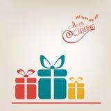 Carte de Joyeux Noël Photo stock