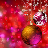 Carte de Joyeux Noël ENV 8 Images stock