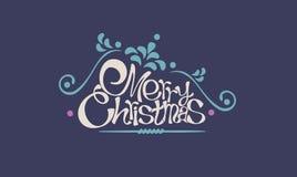 Carte de Joyeux Noël et de bonne année illustration libre de droits