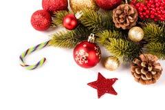 Carte de Joyeux Noël et de bonne année photos libres de droits