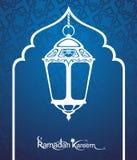 Carte de kareem de Ramadan Images stock