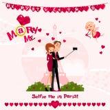 Carte de l'amour Day Image libre de droits