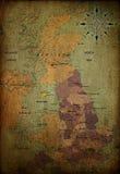 carte de l'Angleterre Photographie stock libre de droits