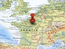 carte de l'Europe Image libre de droits