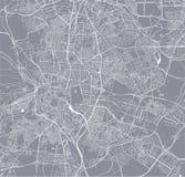 Carte de la ville de Madrid, Espagne illustration de vecteur
