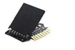 Carte de mémoire cassée Photo stock