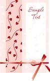 Carte de mariage Image libre de droits