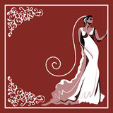 Carte de mariage 6 Photo stock