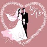 Carte de mariage 3 Photo libre de droits