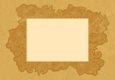 Carte de mariage florale invitation4 Images libres de droits