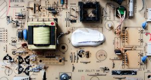 carte de moniteur d'ordinateur Images stock