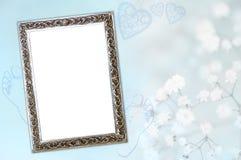 Carte de naissance de bébé garçon Photographie stock libre de droits