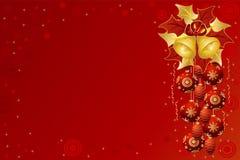 Carte de Noël Photo stock