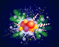 Carte de Noël Images stock