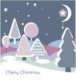 Carte de Noël Image libre de droits