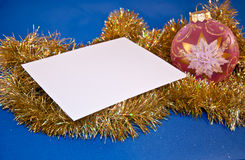 Carte de Noël Photos stock