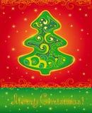 Carte de Noël. Photographie stock libre de droits