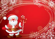 Carte de Noël Images libres de droits