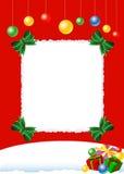 Carte de Noël Photo libre de droits