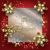 Carte de Noël illustration libre de droits