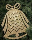 Carte de Noël avec Noël Bell - photos courantes Image stock