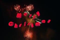 Carte de Noël 3d Photos libres de droits