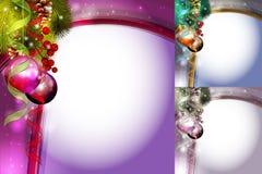Carte de Noël de vecteur Photographie stock