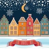 Carte de Noël Joyeux Noel décor Images libres de droits