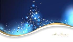 Carte de Noël magique Images stock