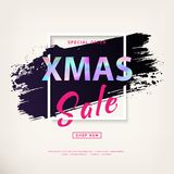 Carte de Noël de Mery Images stock