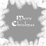 Carte de Noël élégante Photo stock