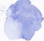 Carte de note de blanc de cadre d'aquarelle Photos stock