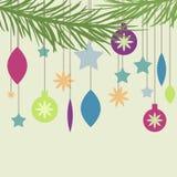 Carte de nouvelle année Image libre de droits