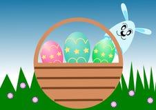 Carte de Pâques Image stock