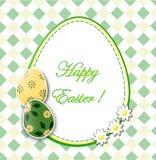 Carte de Pâques Photo stock