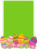 Carte de Pâques Photographie stock