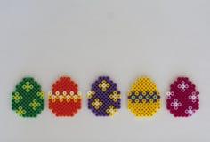 Carte de Pâques heureuse Photo stock