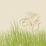 Carte de papier avec Pâques illustration libre de droits