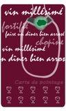 Carte de perforateur de vin Images stock