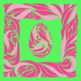 Carte de Pâques de vecteur Image stock