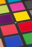 Carte de référence de couleur Image libre de droits