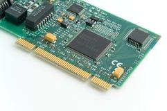Carte de réseau de PCI Image libre de droits