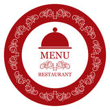 Carte de restaurant de vecteur Photos libres de droits