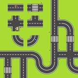 Carte de route Photos libres de droits