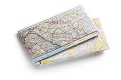 Carte de route Images stock